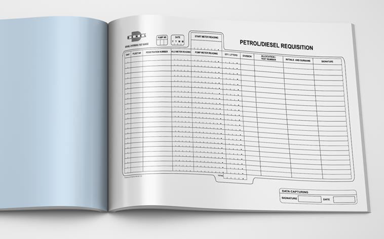 Petrol Diesel Requisition Book