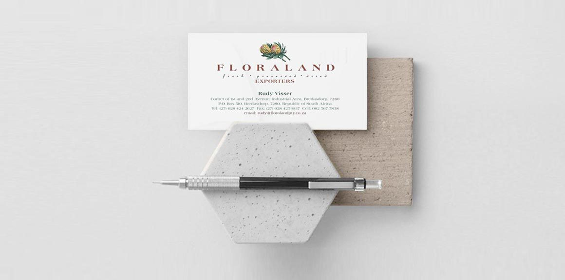 Floraland Business Card