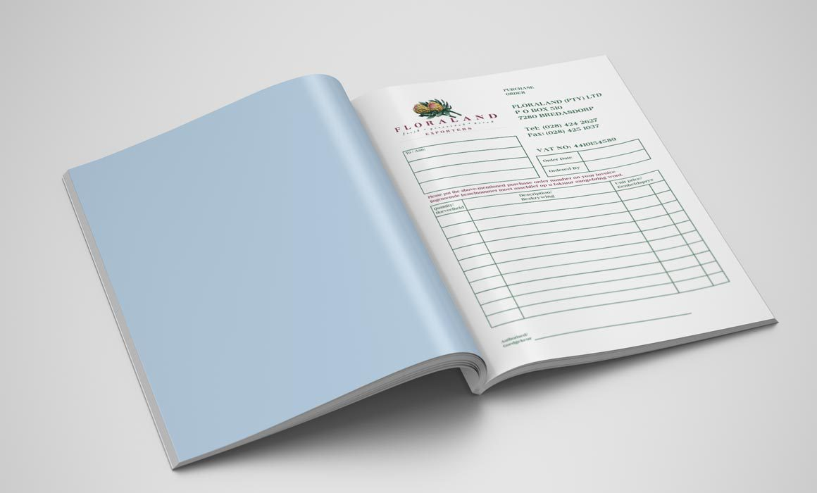 Floraland Purchase Order Book